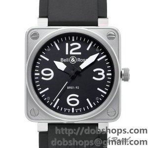BELL&ROSS ベル&ロス 時計 BR01-92 オートマティック【BR01-92B-CA】 BR01-92 Automatic【BR01-92B-CA】