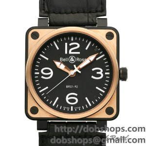 BELL&ROSS ベル&ロス 時計 BR01-92 ピンクゴールド カーボン【BR01-92PGC-AL】 BR01-92 Automatic Pink Gold & Carbon【BR01-92PGC-AL】