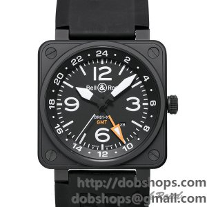 BELL&ROSS ベル&ロス 時計 BR01-93 GMT【BR01-93 GMT-R】 BR01-93 GMT【BR01-93 GMT-R】
