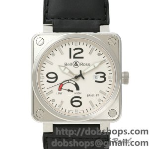 BELL&ROSS ベル&ロス 時計 BR01-97 パワーリザーブ【BR01-97W-CA】 BR01-97 Power Reserve【BR01-97W-CA】