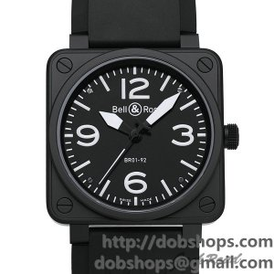 BELL&ROSS ベル&ロス 時計 BR01-92 オートマティック【BR01-92CFB-CA】 BR01-92 Automatic【BR01-92CFB-CA】