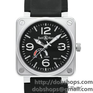 BELL&ROSS ベル&ロス 時計 BR01-97 パワーリザーブ【BR01-97B-CA】 BR01-97 Power Reserve【BR01-97B-CA】
