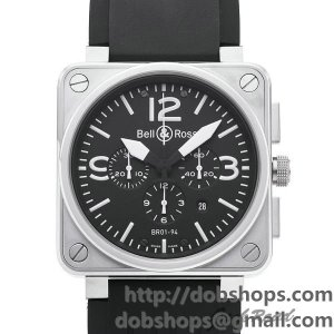 BELL&ROSS ベル&ロス 時計 BR01-94 クロノグラフ【BR01-94B-CA】 BR01-94 Chronograph【BR01-94B-CA】