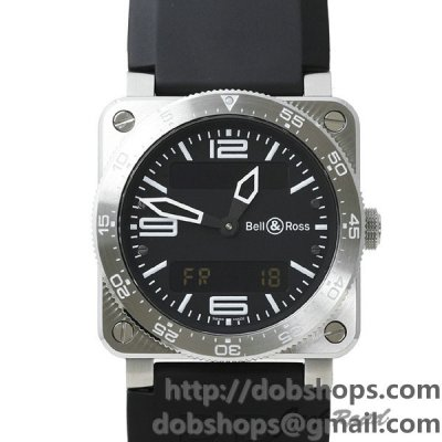 BELL&ROSS ベル&ロス 時計 BR03 タイプ アビエーション【BR03-AVIATION-R】 BR03 Type Aviation【BR03-AVIATION-R】