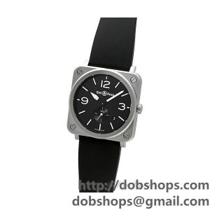 BELL&ROSS ベル&ロス 時計 BRS【BRS-BLC-ST】